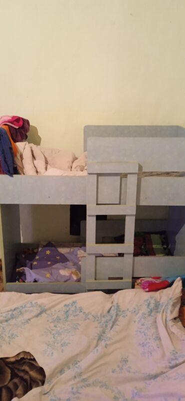 26 объявлений: Продается бу Детский кровать двух яростный размер длина 1метр 25 см