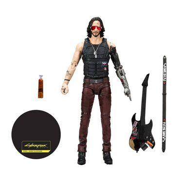 Cyberpunk 2077 Johnny Silverhand (Keanu Reeves)  Visina 17 cm