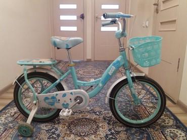 детский велосипед юниор в Кыргызстан: Продаю детский велосипед бирюзового цвета