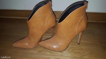Nove duboke cipele cizmice u spic 39 broj - Belgrade