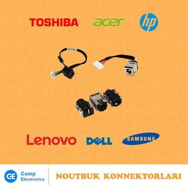 Noutbuk konnektorlarları (Power jack)1) HP CQ42, G422) Acer Aspire