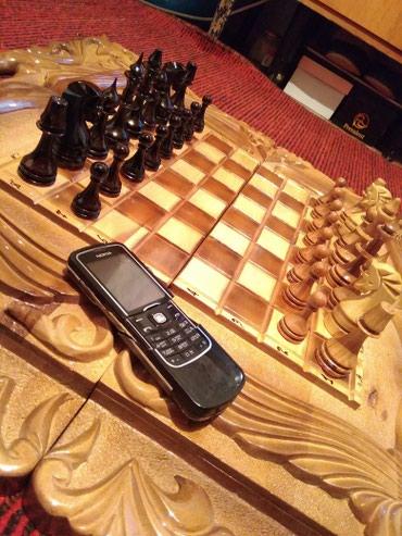 Продаю или меняю новые Шахматы нарды ручной работы. или обмен на сейф в Бишкек
