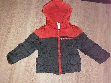 Zimske-kape-o - Srbija: Zimska jakna, sivo narandžasta, C & A, 300 dinara