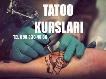 Tattoo kursları Tatu Tatuaj kursları Təcrübəli bir kurs olmadan bu sə