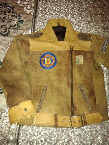 Подростковая кожаная куртка. в Бишкек