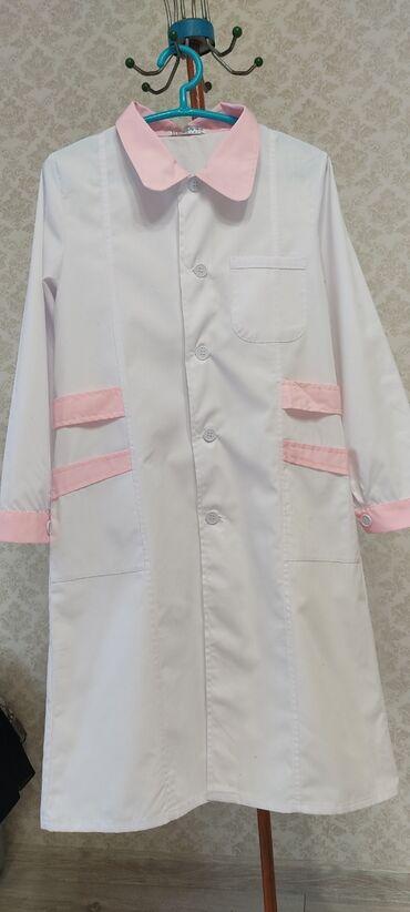 Другая женская одежда - Кыргызстан: Медицинский халат.Новый.Размер 46-48