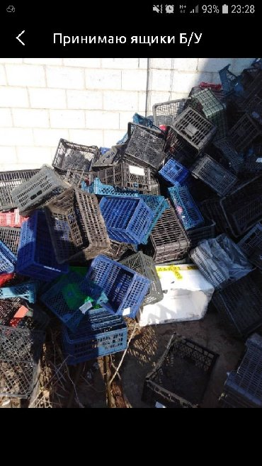 Другие товары для дома в Ак-Джол: Принимаю пластмассовые ящики б/у) Отходы пвх ) полиэтилен)