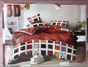 Pamucna posteljina100% pamukSet sadrzi:6 delova:Jorganska navlaka