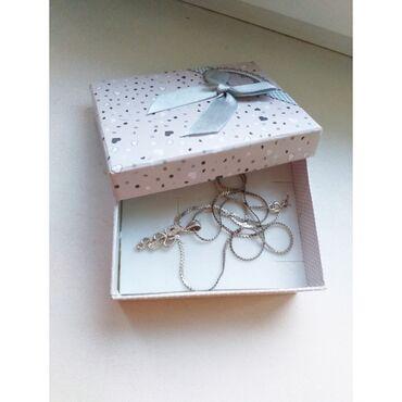 Аксессуары - Сокулук: Срочно продаю цепочку серебро