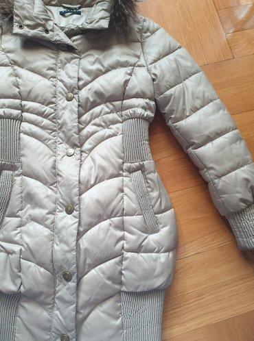 Sisley - Srbija: SISLEY prelepa zimska topla jakna, kao kaput, jer je bas dugacka