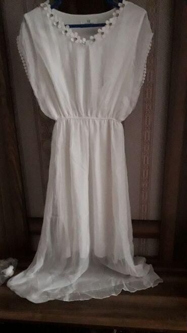 летнее платье свободного кроя в Кыргызстан: Летнее платье очень красивое легкая. новая ни разу не одевали. в живую