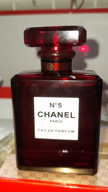 50 ml chanel n5 red originaldi, kodu ile yoxlaya bilersiz, barterde