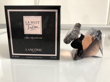 Lancôme Tresor la nuit, оригинал 30 мл полный использовала два пшика