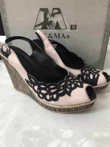 Обувь  Туфли 37 р кожа в Бишкек