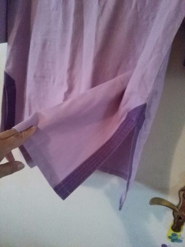 Tunika za krupnije dame od lana,prelepo stoji,nije nosena - Sombor - slika 5
