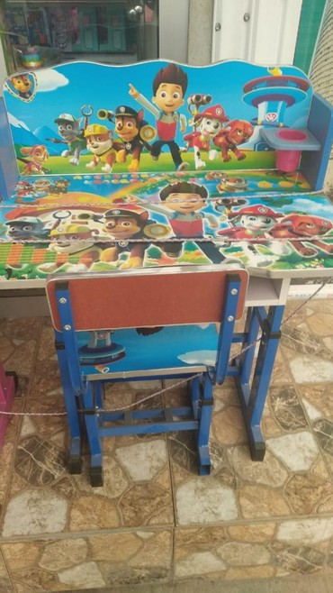 uşaq masaları - Azərbaycan: Usaq masa ve otracagi seher daxili catdirilma 70 manat