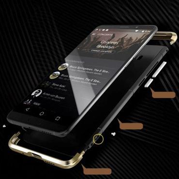 Чехлы в Хырдалан: Huawei mate 10  Metal bamper şəkildə olduğu kimi Təzə İki rənği var Bo