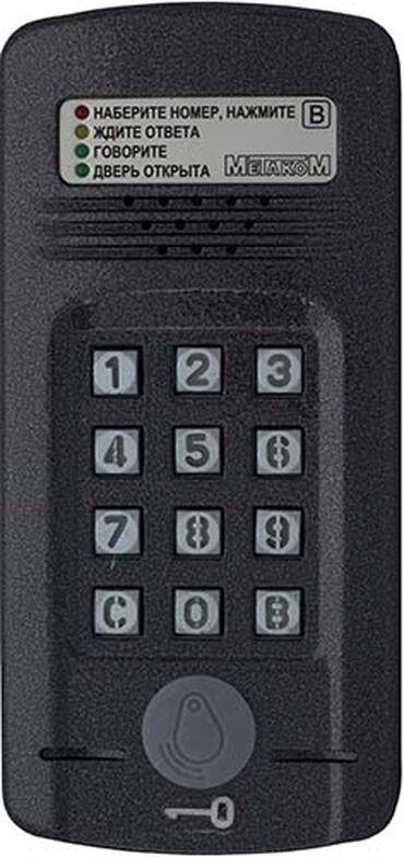 Блок вызова домофона МЕТАКОМ МК2008.2-RF (версия 2) представляет соб