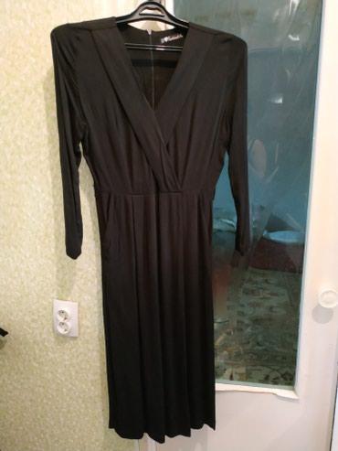 Продаю платье на запах , надевала один раз на мероприятие в Бишкек