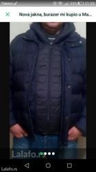 Madjarska jakna,buraz mi kupio,al mi malo tesna,srecom ima ovaj deo - Krusevac