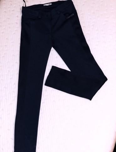 Farmerice-broj-par-lasteks-bez - Srbija: Tamno plave, uske pantalone, lasteks pamuk, S vel. Nosene par puta, be