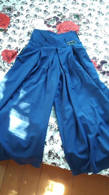 юбка и брюки в Кыргызстан: Брюки клеш смотрится как юбка есть поясок