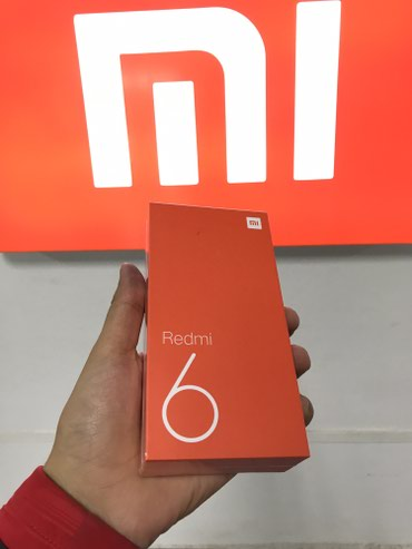 Xiaomi Redmi 6 3+32GB black в Бишкек