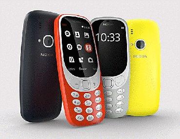 """Nokia 3310, 2017 год. """"все телефоны новые и в Бишкек"""