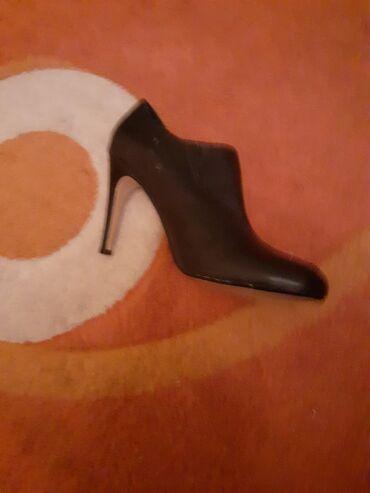 Bluza-sivo-teget - Srbija: Teget cipele.Jednom nosene