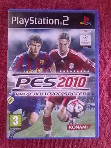 PlayStation 2  pes 2010 - Kucevo