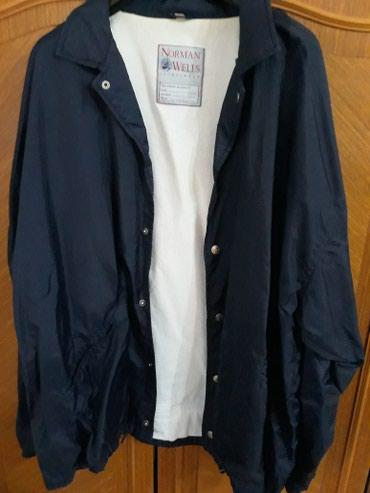 Muska suskava jakna skoro nova vel.xl teget boje 800 din.  - Pozarevac