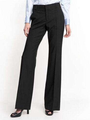 Классические женские брюки, черные.Реплика — Balmain. Отличный вариант