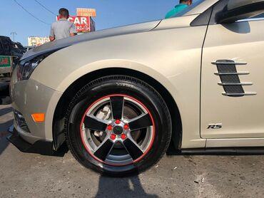 avtomobiller - Azərbaycan: Avtomobiller ucun disk kanti ve bolt rezini unvan 8km masin bazari Her