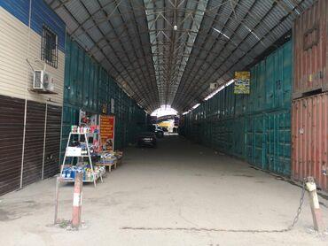 Два 2х этажных контейнера на рынке Дордой. Контейнера находятся рядом