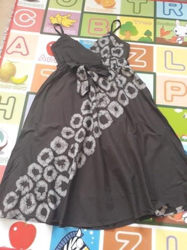Haljine - Ub: Braon haljinica,jako lepo stoji,ispod ima postavu a ispod grudi ima