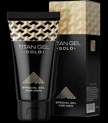 Красота и здоровье - Душанбе: Titan Gel Gold имеет максимальную защиту от подделок.Лимитированная се