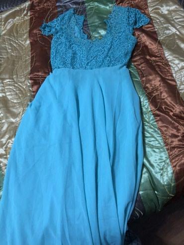 Платья - Баетов: Красивое платье ручной работы,одевалось всего 1 раз,подойдет на М  Шил