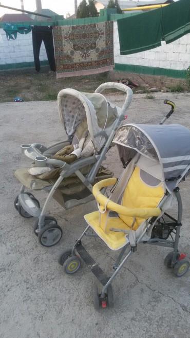 Прогулочная и дорожная коляска трансформер почти новые, пользовались