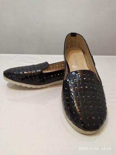 Мокасины - Лебединовка: Летняя женская обувь. Балетки.Один раз были обуты . Состояние новых