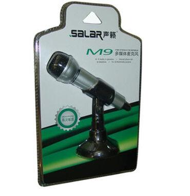 подставки для компьютера в Кыргызстан: Микрофон Salar M9Размер: 28x18x7.5 смСовместимость: устройства с 3,5
