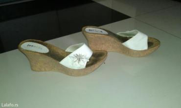 Papuce-broj-anatomske-krem-boja - Srbija: Papuce na plutu broj 37