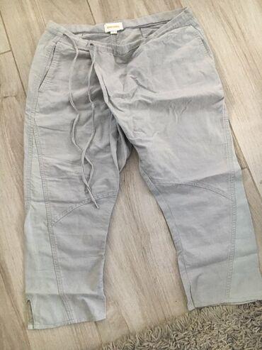 Pantalone m tamno braon imaju dva zakopcavanja napred - Srbija: Diesel pantalone 3/4  Duzina 78cm Struk 42 Butina 27 Jako lepo stoje