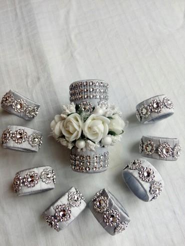 Kuća i bašta | Bajina Basta: Prstenovi za salvete i ukras za svecu! Prelepi kompletza vas svecani