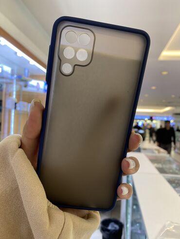 Чехол матовый на Samsung A12
