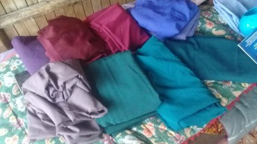ткань плюш в Кыргызстан: Остатка ткань алабыз