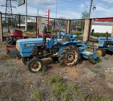 Продаю японский мини трактор Мицубиси д 1600 Дизельный 2-х цилиндровый