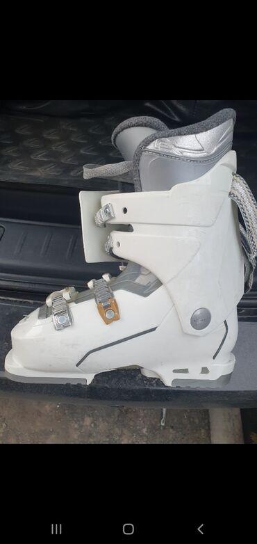 что такое оптималка в Кыргызстан: Продаю женские лыжные ботинки (производ.Италия) 35 размер. Катались од