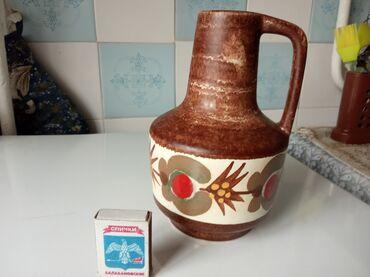 Продам в Токмаке оригинальная ваза из Германии керамика новая пишите