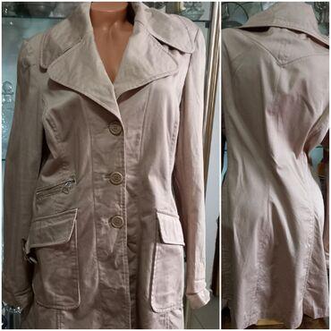 Bluzica katrin - Srbija: KATRIN nude (malo vuče na prljavo roze)mantil vel XLOčuvan, kvalitetan