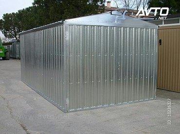 Garaze po meri i zelji kupca - Topola